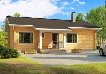 Проекты домов из двойного минибруса